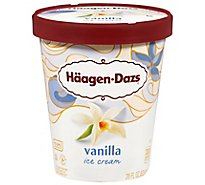 Haagen-Dazs Ice Cream Vanilla - 28 Fl. Oz.