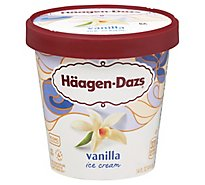 Haagen-Dazs Ice Cream Vanilla - 14 Fl. Oz.