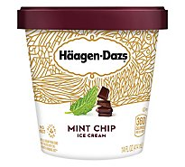 Haagen-Dazs Ice Cream Mint Chip - 14 Fl. Oz.