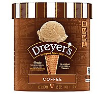 Dreyers Edys Ice Cream Grand Coffee - 1.5 Quart