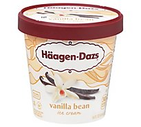 Haagen-Dazs Ice Cream Vanilla Bean - 14 Fl. Oz.