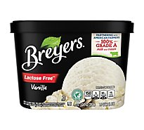 Breyers Ice Cream Light Lactose Free Vanilla - 1.5 Quart