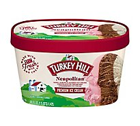Turkey Hill Ice Cream Premium Neapolitan - 48 Oz