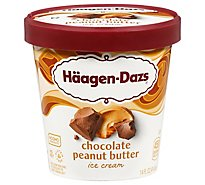 Haagen-Dazs Ice Cream Chocolate Peanut Butter - 14 Fl. Oz.