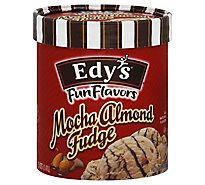 Dreyers Edys Ice Cream Grand Mocha Almond Fudge - 1.5 Quart