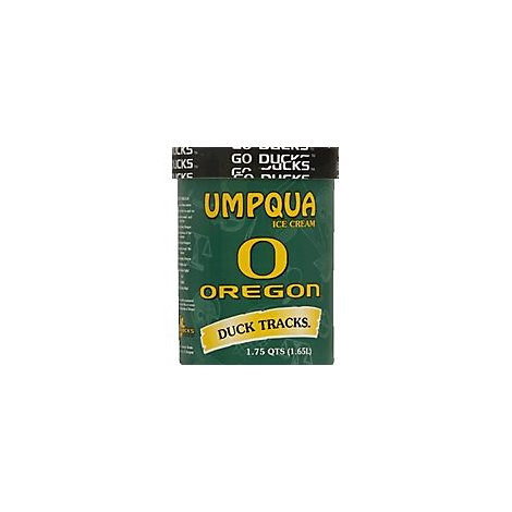 Umpqua Ice Cream Duck Tracks - 1.75 Quart