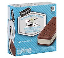 Signature SELECT Ice Cream Sandwiches Vanilla - 6-3.5 Fl. Oz.