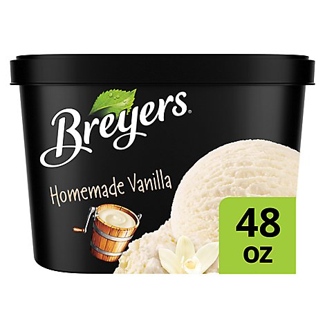 Breyers Ice Cream Original Homemade Vanilla - 48 Oz