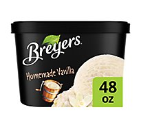Breyers Ice Cream Homemade Vanilla - 1.5 Quart