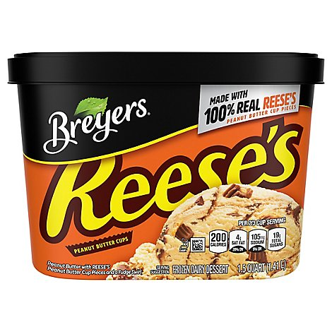 Breyers Ice Cream REESES Peanut Butter Cups - 48 Oz