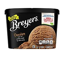 Breyers Ice Cream Original Chocolate - 48 Oz