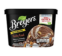 Breyers Ice Cream Original Rocky Road - 48 Oz