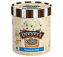 Dreyers Edys Ice Cream Slow Churned Light Chocolate Chip - 1.5 Quart