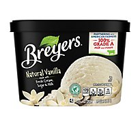Breyers Ice Cream Natural Vanilla - 1.5 Quart