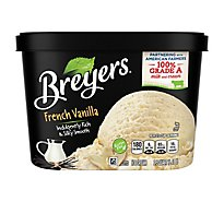 Breyers Ice Cream Original French Vanilla - 48 Oz