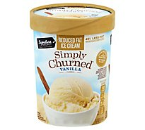 Signature SELECT Ice Cream Vanilla Light - 1.50 Quart