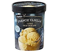 Signature SELECT French Vanilla Ice Cream - 1.50 Quart