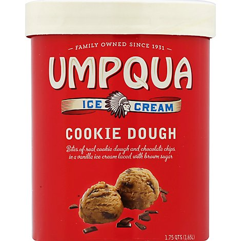 Umpqua Ice Cream Cookie Dough - 1.75 Quart