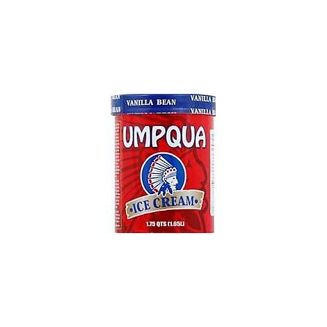 Umpqua Ice Cream Vanilla Bean - 1.75 Quart