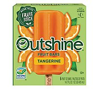 Outshine Fruit Ice Bars Tangerine - 6-2.68 Fl. Oz.