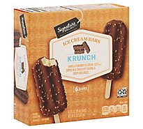 Signature SELECT Ice Cream Bars Krunch - 6-3 Fl. Oz.