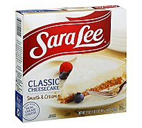Sara Lee Cheesecake Original Cream Smooth & Creamy Classic - 17 Oz