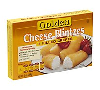 Golden Blintzes Cheese 6 Count - 13 Oz