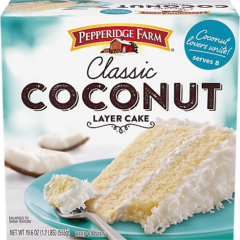 Pepperidge Farm Cake 3 Layer Coconut - 19.6 Oz