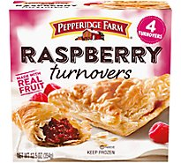 Pepperidge Farm Turnovers Raspberry 4 Count - 12.5 Oz