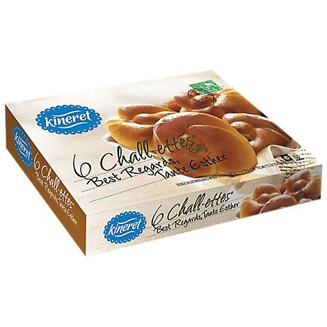 Kineret Bread Chalettes 6 Count - 14 Oz