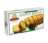 Mamma Bella Garlic Bread Pre-Sliced Loaves Cholesterol Free - 14 Oz