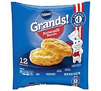 Pillsbury Grands! Frozen Biscuits Buttermilk 12 Count - 25 Oz