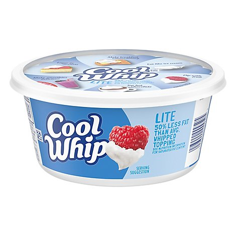 Cool Whip Whipped Topping Lite - 8 Oz