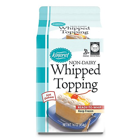 Kineret Whipped Topping Non Dairy - 16 Oz
