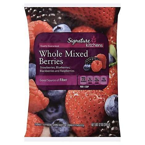 Signature SELECT Berries Whole Mixed - 12 Oz