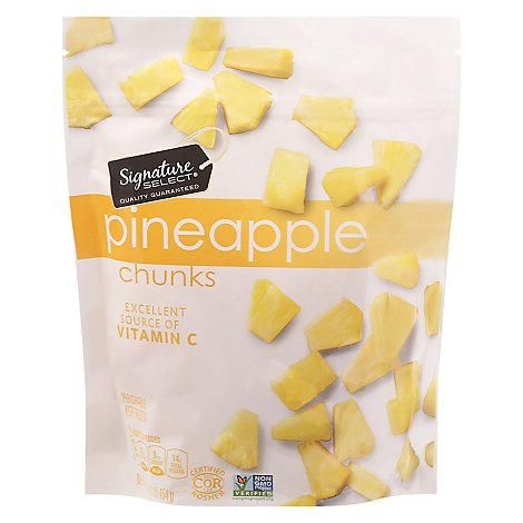 Signature SELECT Pineapple Chunks - 16 Oz