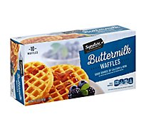 Signature SELECT Waffles Buttermilk - 12.3 Oz