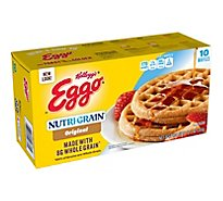 Eggo Nutri-Grain Frozen Waffles Original Easy Breakfast - 12.3 Oz