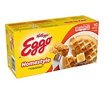 Eggo Frozen Waffles Homestyle Easy Breakfast - 12.3 Oz