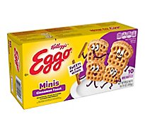 Eggo Minis Frozen Waffles Cinnamon Toast Easy Breakfast - 10.75 Oz