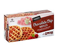 Signature SELECT Waffles Chocolate Chip - 12.3 Oz