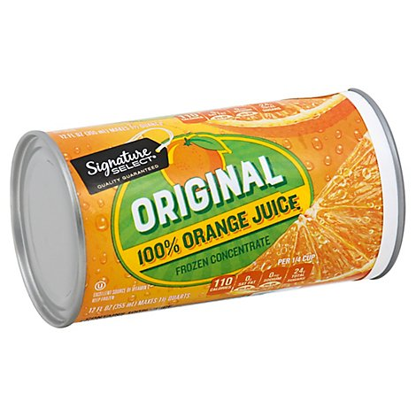 Signature SELECT Juice Orange Orignal - 12 Fl. Oz.