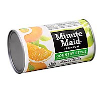 Minute Maid Premium Juice Frozen Concentrated Orange Country Style - 12 Fl. Oz.