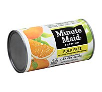 Minute Maid Premium Juice Frozen Concentrated Orange Pulp Free - 12 Fl. Oz.