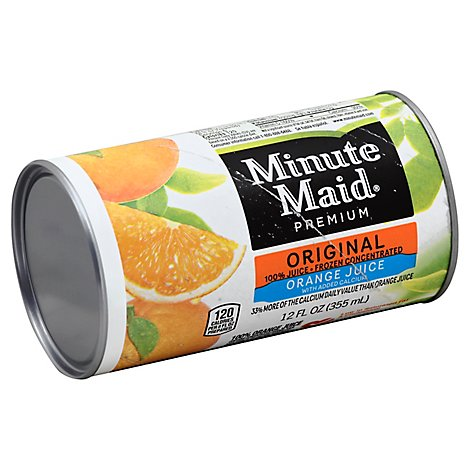 Minute Maid Premium Juice Frozen Concentrated Orange With Added Calcium - 12 Fl. Oz.