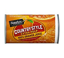 Signature SELECT Juice Orange Calcium Extra Pulp Country Style - 12 Fl. Oz.