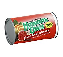 Hawaiis Own Juice Frozen Concentrate Guava Passion Orange - 12 Fl. Oz.