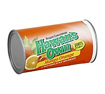 Hawaiis Own Juice Frozen Concentrate Mango Orange - 12 Fl. Oz.