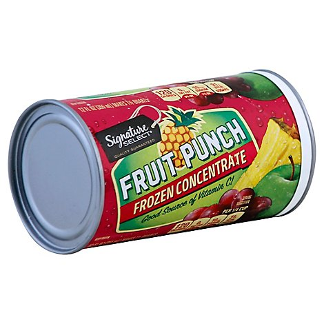 Signature SELECT Fruit Punch Frozen Concentrate - 12 Fl. Oz.
