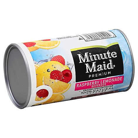 Minute Maid Premium Juice Frozen Concentrated Raspberry Lemonade - 12 Fl. Oz.